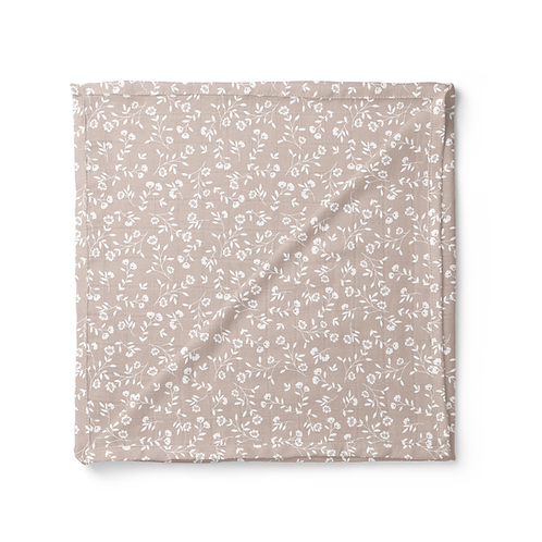 Wild Flower Swaddle - Mauve