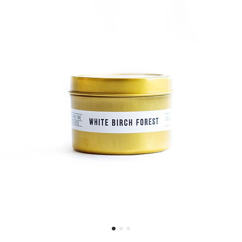 White Birch Forest Candle