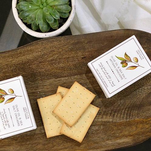 Luxe Collection Olive Oil & Sea Salt Mini Cracker