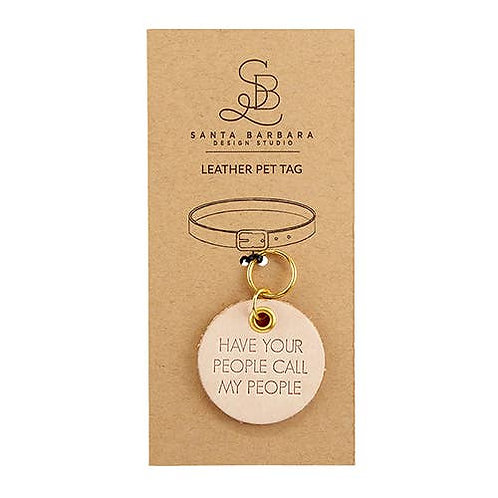 Leather Pet Tag