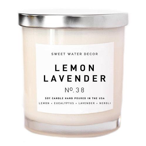 Lemon Lavender Soy Candle