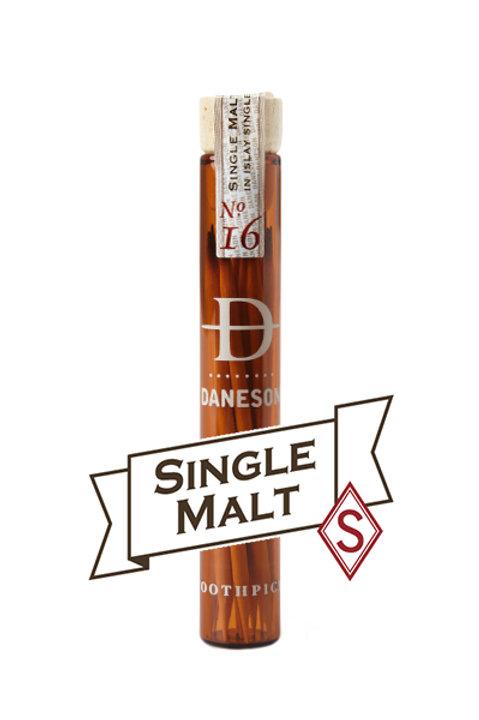 Daneson Single Malt Scotch Whiskey Toothpicks