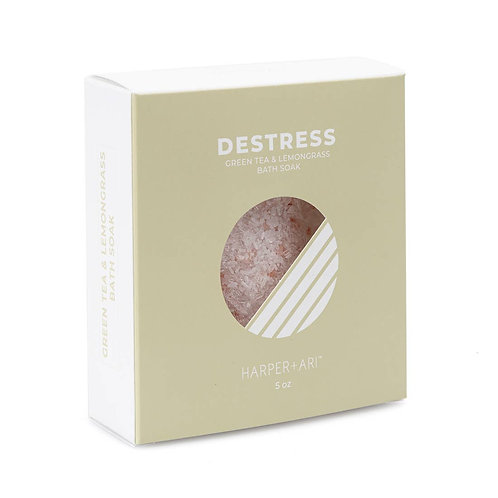 Destress Green Tea + Lemongrass Bath Soak
