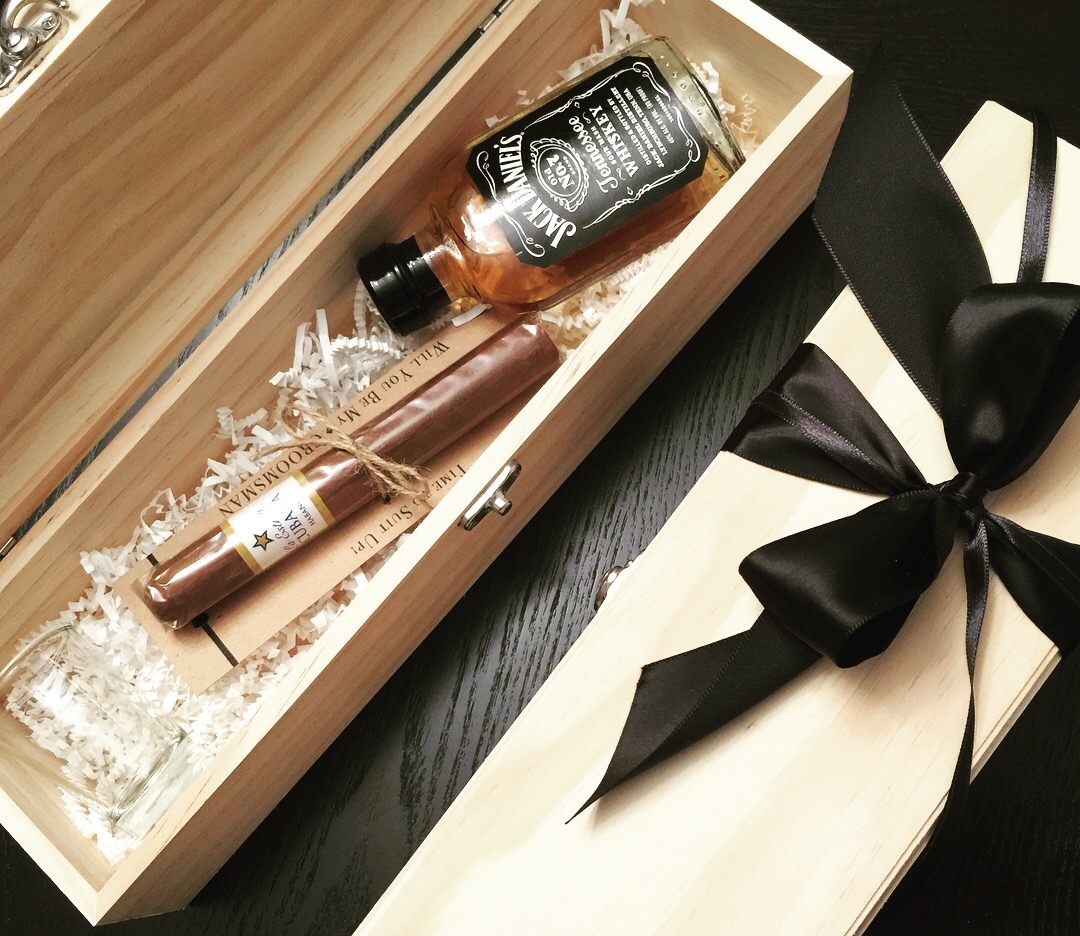 Groomsmen Proposal Gift Box