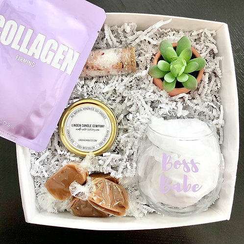 Boss Babe Spa Day Gift Box