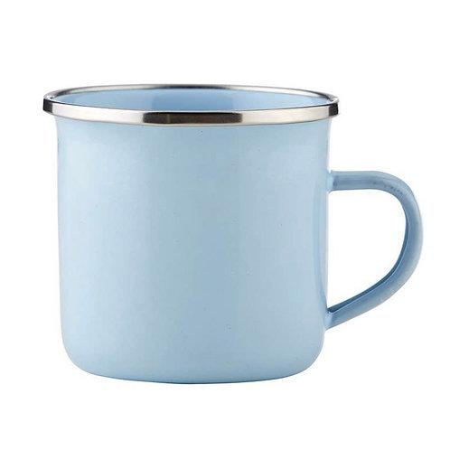 Heirloom Blue Enamel Keepsake Cup