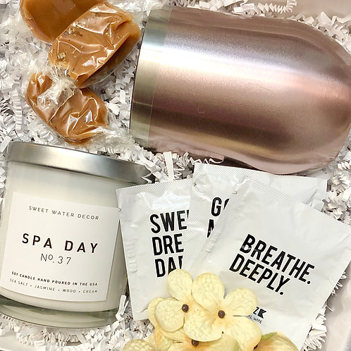 A Sweet Spa Day Gift Box