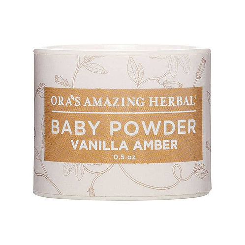 Vanilla Amber Mini Baby Powder