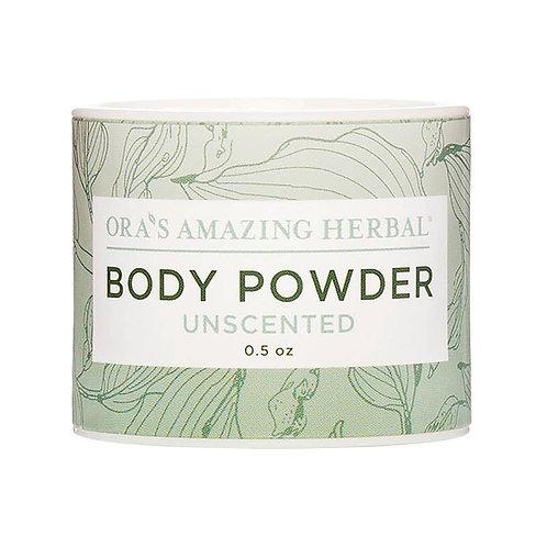 Unscented Mini Body Powder