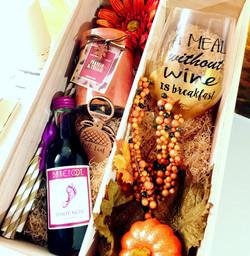 Fall Birthday Gift Box
