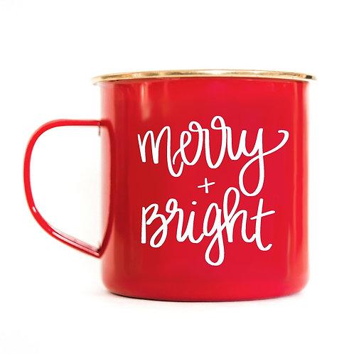 """""""Merry & Bright"""" Coffee Mug"""