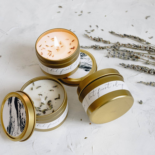 But First Sleep Coconut Soy Gold Travel Tin
