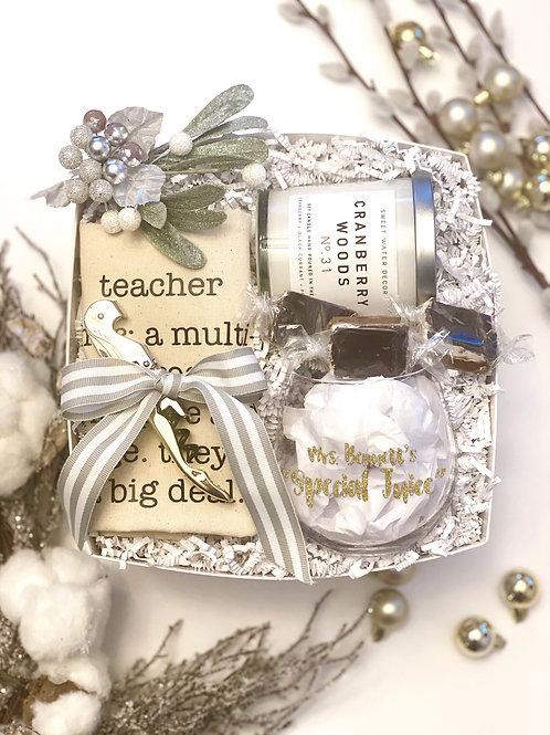 Holiday Teacher Gift
