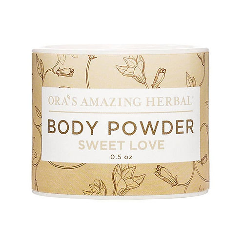 Sweet Love Mini Body Powder