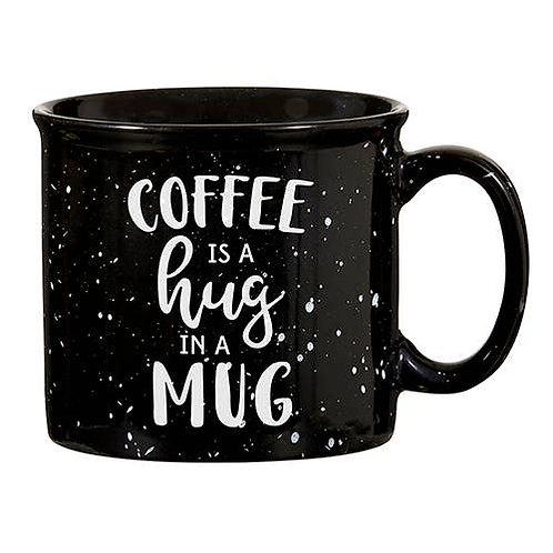 """Coffee is a Hug in a Mug"" Ceramic Mug"