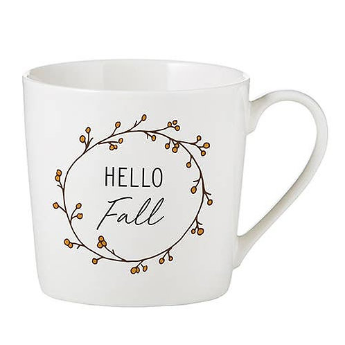 Hello Fall Cafe Mug