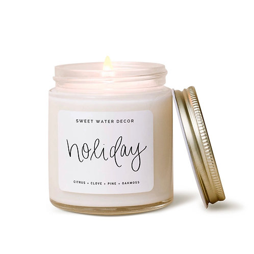 Holiday Mini Soy Candle