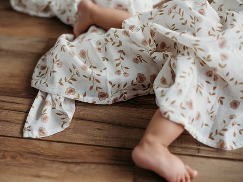 Wild Flower Swaddle