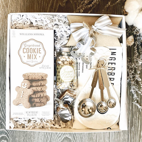 Gingerbread Cookie Gift Box