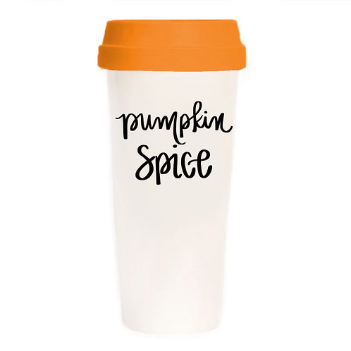 Pumpkin Spice Travel Mug