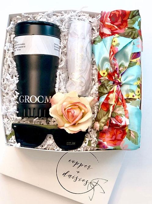 Bride + Groom Gift Box