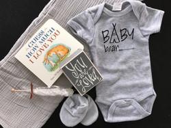 "Custom ""Baby Bear"" Gift Basket"