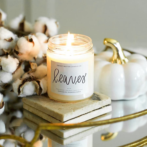 Leaves Soy Candle