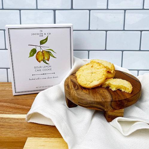 Sour Lemon Soft Cookies