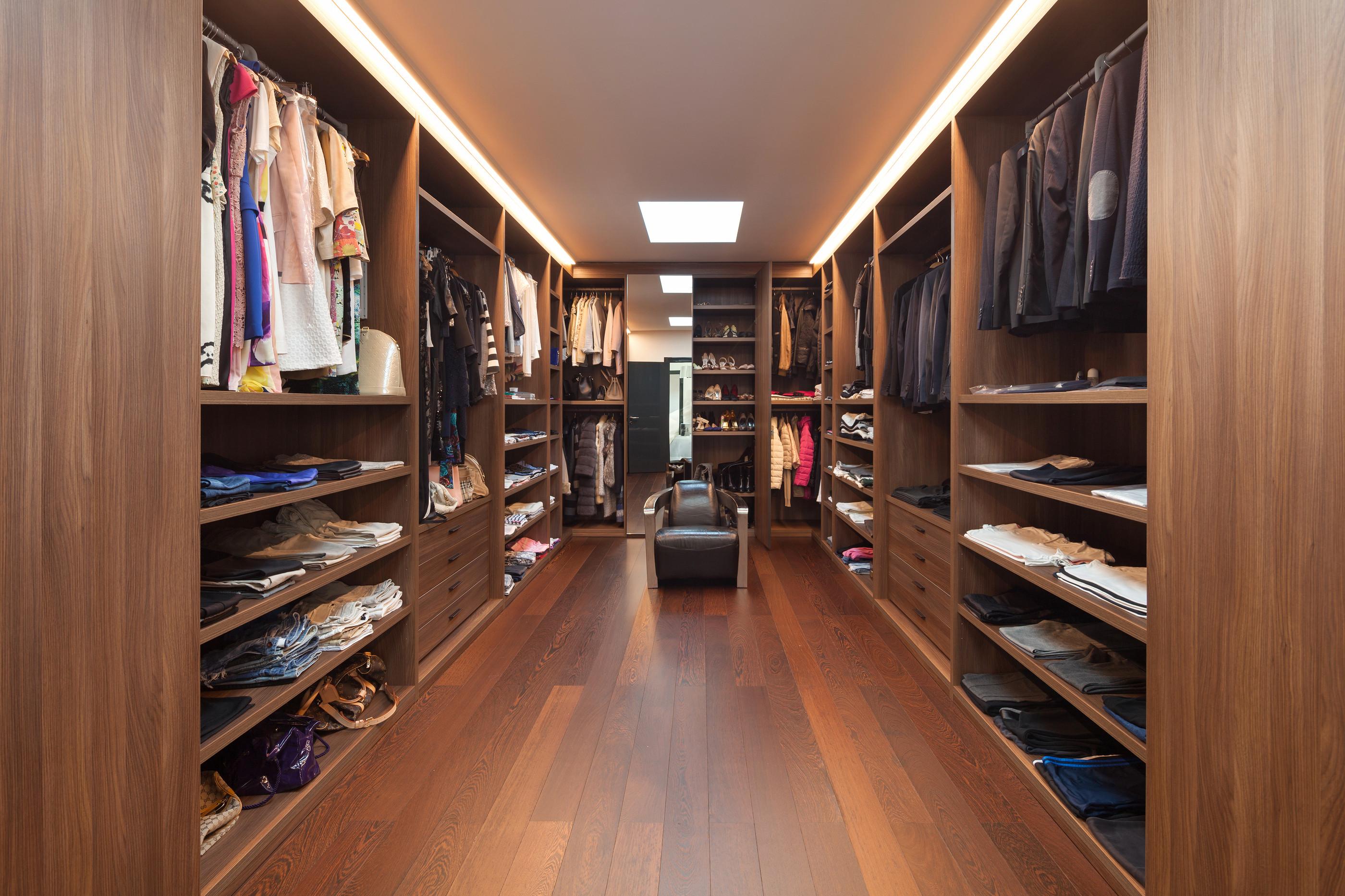 Comprehensive Dressing Room Design/Plans