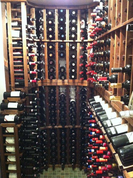 Initial Wine Room Measure & Consult