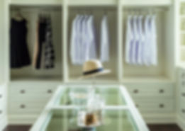 Customized Closets and Dressing Rooms Put Clothing & Accessories on Display Beautifully.