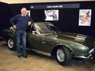 """OUR ASTON MARTINS Whenever we hear the name Aston Martin mentioned, we immediately think: """"James Bon"""