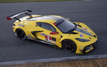 Here's the Yellow Corvette C8.R Race Car You've Been Waiting For