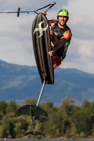 carbon fiber wakeboard