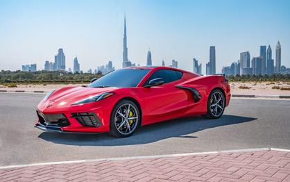 New Chevrolet Corvette Officially Arrives In The Middle East