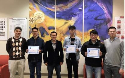 MAE Students Earn Best Poster Awards at 2019 ASME IMECE Conference