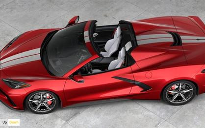 Chevrolet's 2021 Corvette Build and Price Configurator is Now Online