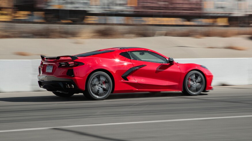 Carbon Fiber Corvette C8