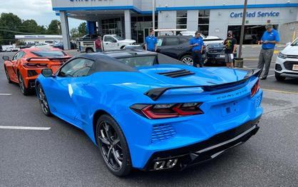 The First 2020 Corvette Convertibles Are Now Arriving at Dealers