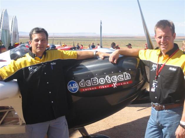 Mike Mangold carbon fiber debotech
