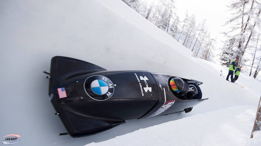 usabs carbon fiber bobsled