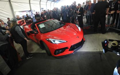 Chevy Needed Only 60 Hours To Sell Over 300 Corvette C8s In Japan