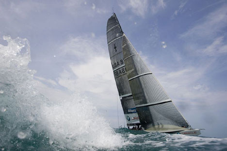 carbon fiber sailboat