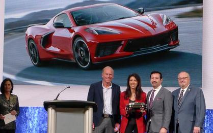 C8 Corvette Stingray Named 2020 North American Car of the Year