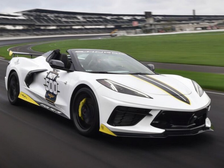 2021 Chevy Corvette C8 Convertible Indy 500 Pace Car to Lead the Field Topless