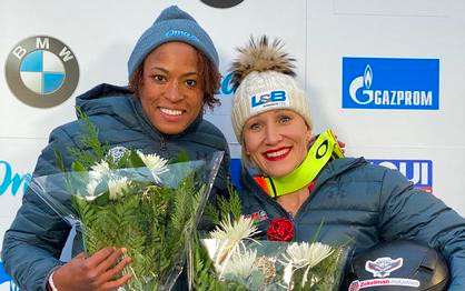 Humphries and Gibbs sweep women's bobsled World Cup races in Lake Placid