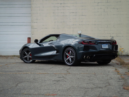 Chevy Corvette was the fastest-selling car in America last month