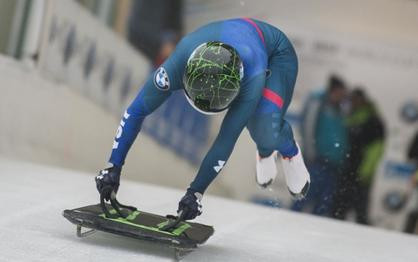 Henry finishes seventh in women's skeleton Winterberg World Cup