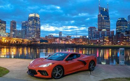First Drive in the 2020 Corvette Stingray with YouTube's Drive 615