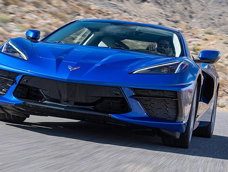 Chase the Summer Blues Away By Winning This 2021 Corvette Z51 Coupe